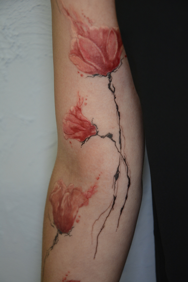 Silvano Braga Tattoo Gallery Aquarell 06