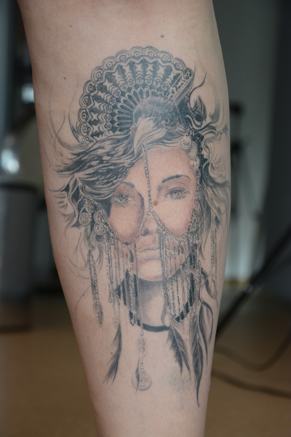 Silvano Braga Tattoo Gallery Native 02